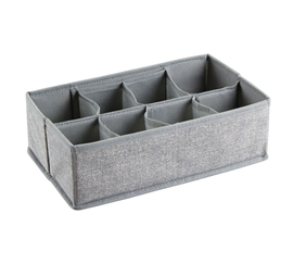8 Compartment Dorm Organizer - Gray