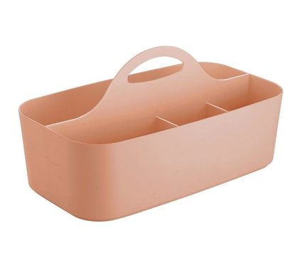 Dorm Shower Tote - Coral
