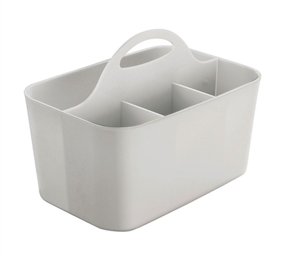 Dorm Shower Caddy - Light Gray