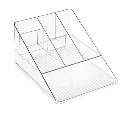 Clear Dorm Desk Organizer