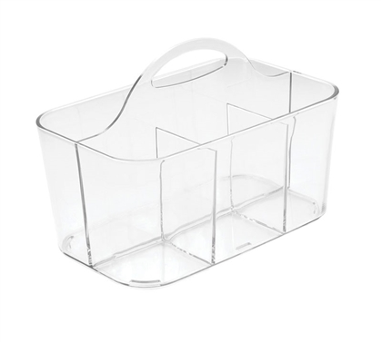 Clear Silverware Caddy