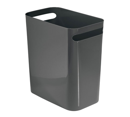 Compact Trash Can - Slate Gray
