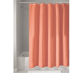 Fabric College Shower Curtain - Coral Dorm Essentials Dorm Room Decor