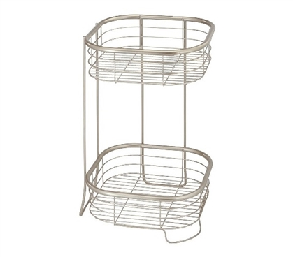 2 Tier Shower Shelf Square Dorm Room Storage Dorm Organizer