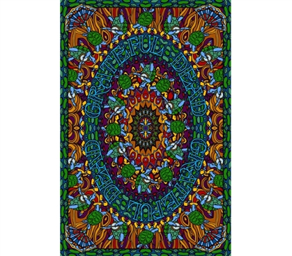 Grateful Dead Terrapin Dance Tapestry College bedding accessory