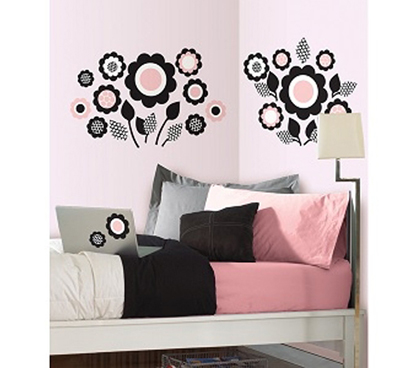 Adhesive - Gigi Flower Dots - Peel N Stick - Cool Dorm Decorations