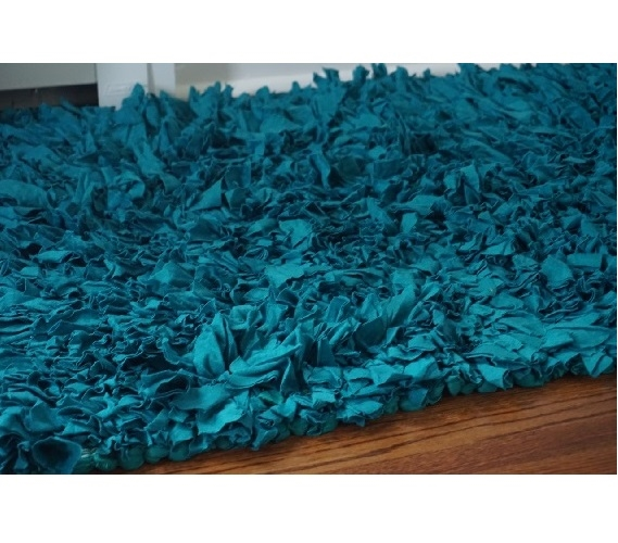 Jersey Knit Cotton Dorm Rug