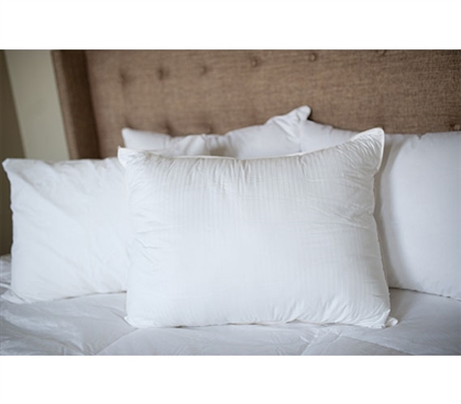 Down Alternative Comfort Pillow - Classic Stripes