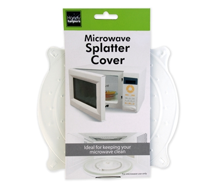 Useful Dorm Accessory - Dorm Microwave Splatter Cover - Great For Keeping Microwave Clean