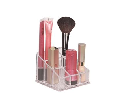 Must Have Supplies For College - 9-Compartment Lipstick Organizer - Cool Dorm Items Organizer