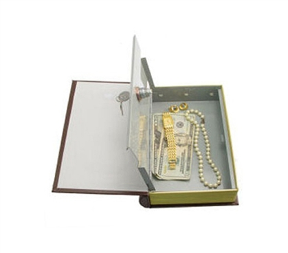 Locking Book Safe Dorm Security Supplies