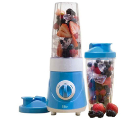 Premium On the Go Personal Blender - Caribbean Blue - Make Dorm Snacks