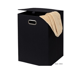 Space Saving Fold N Store Collapsible Hamper - Black only