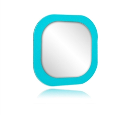 Square Mirror Um - (Reusable Adhesive Mirror)