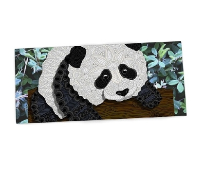 Dorm Essentials College Supplies Artsy Panda Desk Mat