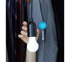 Pull Cord Hanging Lamp - Hang Anywhere