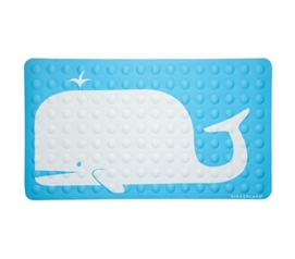 Whale Bath Mat - High-Grip Suction