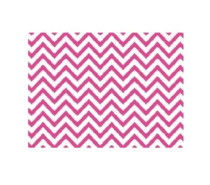Grip Print Shelf Liner - Chevron Pink College Dorm Decorations