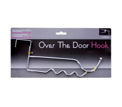 Chrome Hook - Over-The-Door Hanger Dorm Essentials College Supplies