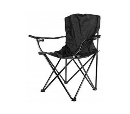 Folding Black College Chair - With Travel Bag