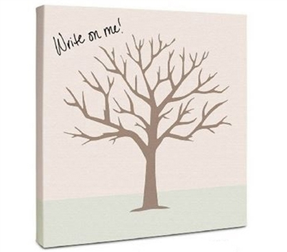 Canvas Kudos - Signable Wall Canvas - Family Tree Dorm Room Decorations Dorm Room Decor