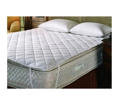 Sleep At College In Comfort - Classic Twin XL College Dorm Mattress Pad