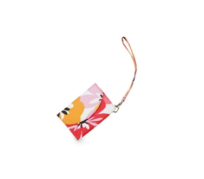 Don't Lose Your ID - Cotton Blossom Smart Phone ID Wristlet - Pretty Design
