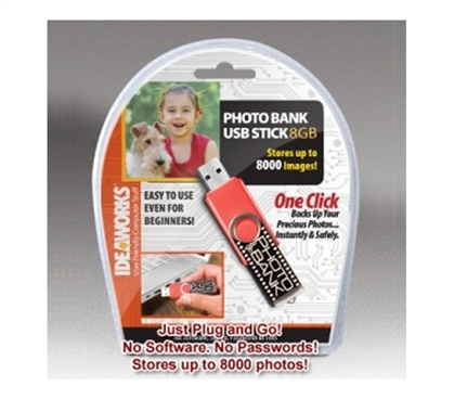 Photo Bank USB Stick - 8G