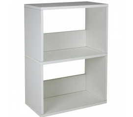 2 Shelf Bookshelf Way Basics Dorm