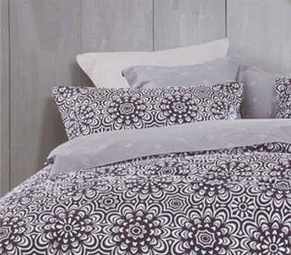 Apollo Purple Twin XL Sheet Set