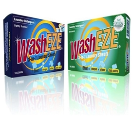 WashEZE 3-in-1 Laundry Sheets Dorm laundry accessories