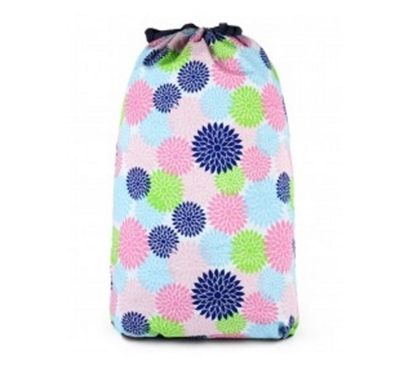 Floral Pop - College Laundry Bag Dorm Room Decor Dorm Necessities