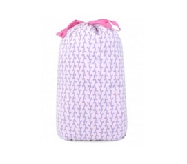 Vivienne Lavender - College Laundry Bag Dorm Essentials Dorm Necessities