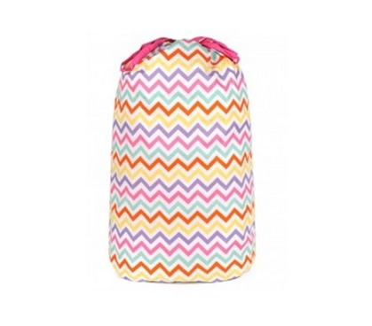 Capri Chevron - College Laundry Bag Dorm Essentials Dorm Room Decor