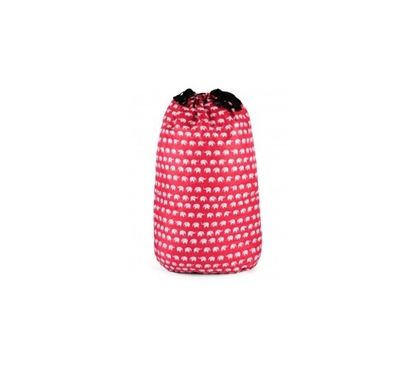 Elephant Red - College Laundry Bag Dorm Essentials