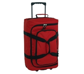 Micro Monster Bag Trunk - Red Storage Trunks with Wheels Dorm Essentials