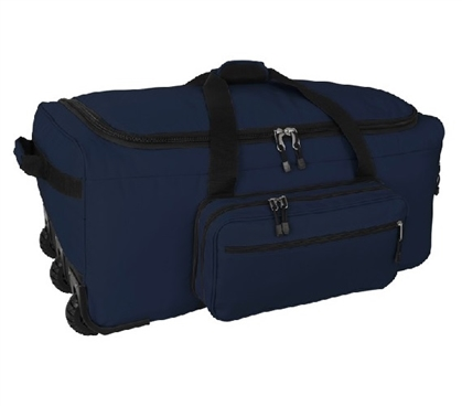 Mini Monster Bag Dorm Trunk with Wheels - Midnight Blue College Supplies