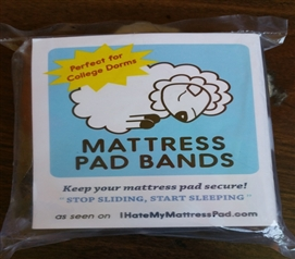 Dorm Mattress Pad Bands Dorm Essentials Twin XL Dorm Bedding Dorm Accessories