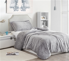 Coma Inducer Twin XL Comforter - Me Sooo Comfy - Alloy