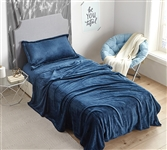 Me Sooo Comfy Twin XL Sheets - Navy