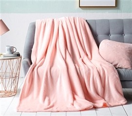 Me Sooo Comfy Full Blanket - Rose Quartz