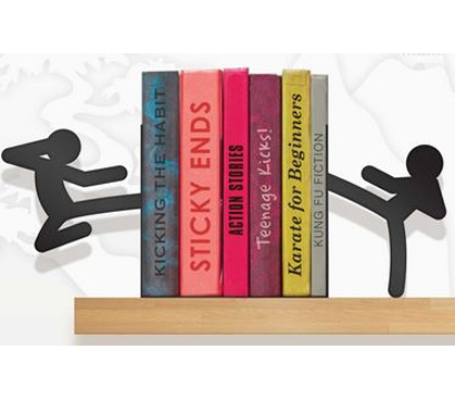 Stickmen - Fighting Figures Bookends
