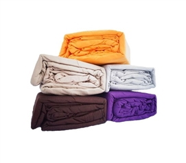 Extra Long Twin Dorm Bedding Sheets - Colorful TXL Jersey Knit Bed Sheets (Available in 5 Colors)