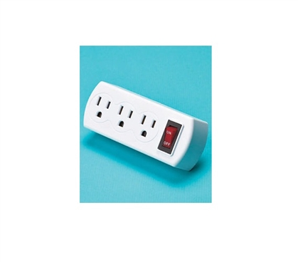 Energy Saving 3 Outlet Adapter Dorm Essentials College Supplies
