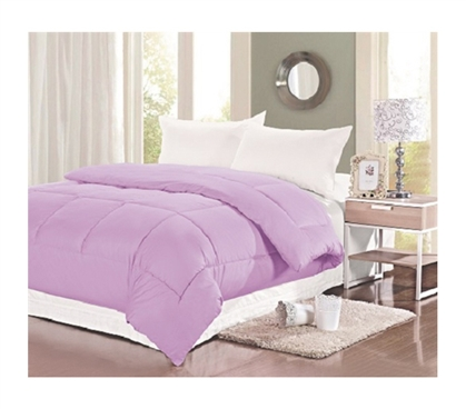 Natural Cotton Twin XL Comforter - College Ave - Cosmic