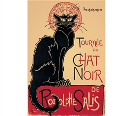 Essential Dorm Wall Decorations - Tournee du Chat Noir Poster - Poster For College