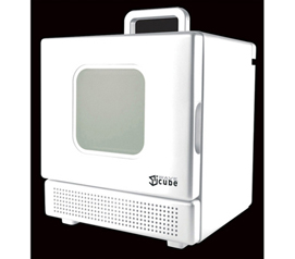Needed For College - 600 Watt Personal Desktop Microwave - White - Compact For Dorms