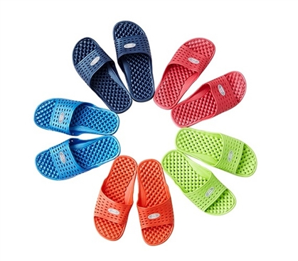 Anti-Slip Women's Shower Sandal (The Original Drainage Hole Sandal) - Useful, Cheap Shower Shoes