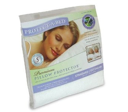 Sleep Time Dorm Necessity Premium Pillow Protector - College Bedding Accessory