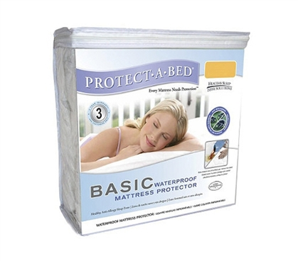 Protect Mattress Pads - Basic Waterproof Mattress Protector Twin XL (Protect-A-Bed) - Keep Mattress Safe From Spills
